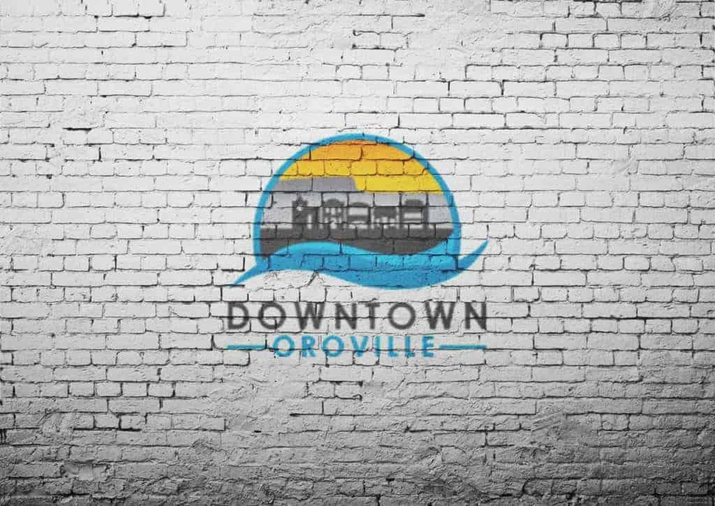 downtownoroville brickwall